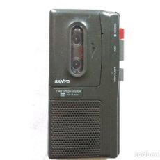 Fonógrafos y grabadoras de válvulas: SANYO GRABADORA MICROCASSETTE RECORDER. Lote 119220235