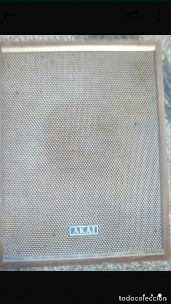 Fonógrafos y grabadoras de válvulas: lote magnetofono sony tc-377,amplificador superscope r-350, altavoces akai sw-30 y cintas. años 70 - Foto 2 - 120806343