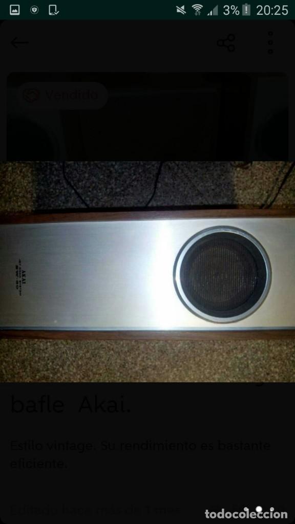 Fonógrafos y grabadoras de válvulas: lote magnetofono sony tc-377,amplificador superscope r-350, altavoces akai sw-30 y cintas. años 70 - Foto 4 - 120806343