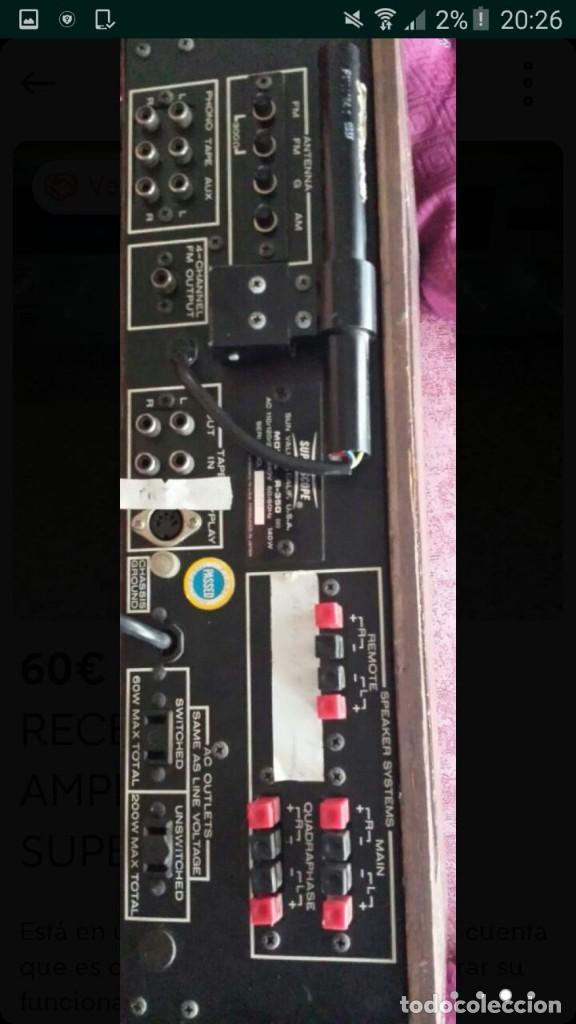 Fonógrafos y grabadoras de válvulas: lote magnetofono sony tc-377,amplificador superscope r-350, altavoces akai sw-30 y cintas. años 70 - Foto 5 - 120806343