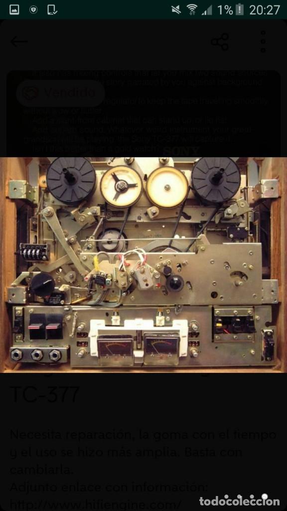 Fonógrafos y grabadoras de válvulas: lote magnetofono sony tc-377,amplificador superscope r-350, altavoces akai sw-30 y cintas. años 70 - Foto 8 - 120806343