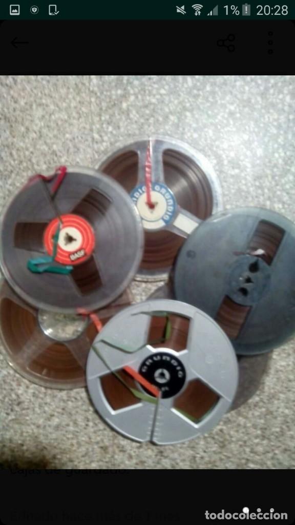 Fonógrafos y grabadoras de válvulas: lote magnetofono sony tc-377,amplificador superscope r-350, altavoces akai sw-30 y cintas. años 70 - Foto 9 - 120806343