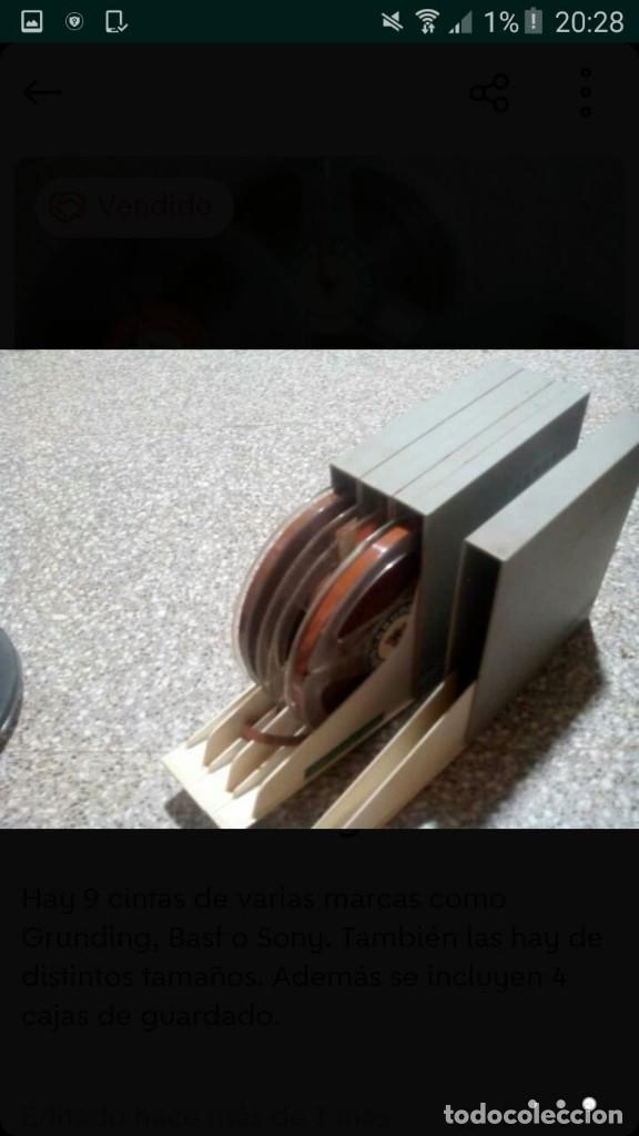 Fonógrafos y grabadoras de válvulas: lote magnetofono sony tc-377,amplificador superscope r-350, altavoces akai sw-30 y cintas. años 70 - Foto 11 - 120806343