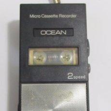 Fonógrafos y grabadoras de válvulas: GRABADORA PEQUEÑA OCEAN 2 SPEED. Lote 122119915