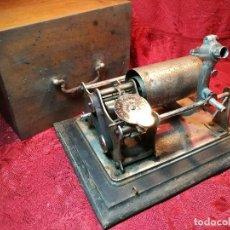 Fonógrafos y grabadoras de válvulas: FONOGRAFO DE CILINDRO ... PHONOGRAPH. DEPOSE PARIS -FRANCIA ,,1890-1900 ,INCOMPLETO !!. Lote 122339015