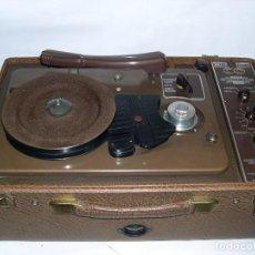 Fonógrafos y grabadoras de válvulas: GRABADOR DE ALAMBRE COMBINADO WIREWAY WP 8949 AÑOS 40 . Lote 123015095
