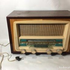 Fonógrafos y grabadoras de válvulas: ANTIGUA RADIO EN MADERA MARCA MARFIL ORIGINAL AÑOS 50 60. Lote 124594912