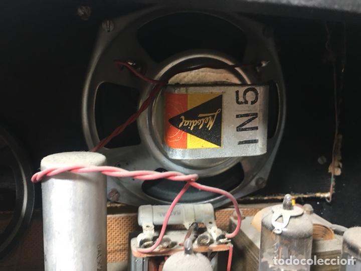 Fonógrafos y grabadoras de válvulas: Antigua radio en madera marca marfil original años 50 60 - Foto 16 - 124594912