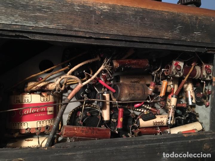 Fonógrafos y grabadoras de válvulas: RADIO COLONIAL DE MADERA - Foto 12 - 64769555