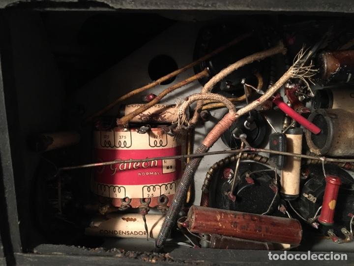 Fonógrafos y grabadoras de válvulas: RADIO COLONIAL DE MADERA - Foto 13 - 64769555