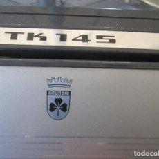 Fonógrafos y grabadoras de válvulas: MAGNETOFONO GRUNDIG TK 145 EN PERFECTO ESTADO DE FUNCIONAMIENTO Y CONSERVACIÓN. . Lote 133052550