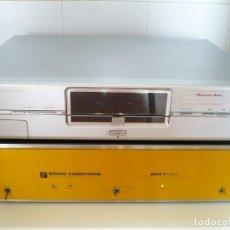 Fonógrafos y grabadoras de válvulas: PHILIPS MATCH LINE - TRANSPORTE CD. LUJO. LENTE LÁSER ORIGINAL DE CRISTAL. Lote 135113006