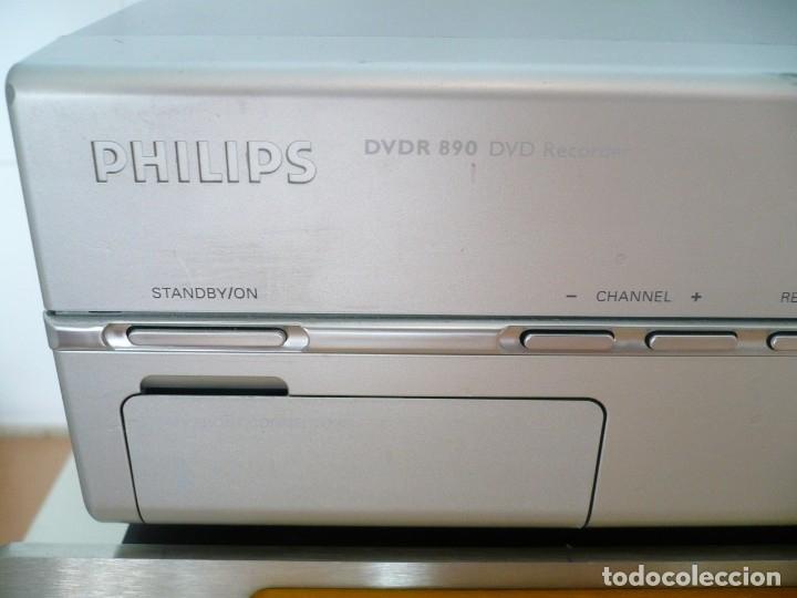 Fonógrafos y grabadoras de válvulas: PHILIPS MATCH LINE - TRANSPORTE CD. LUJO. LENTE LÁSER ORIGINAL DE CRISTAL - Foto 4 - 135113006