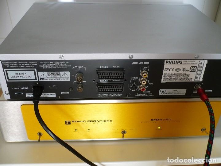 Fonógrafos y grabadoras de válvulas: PHILIPS MATCH LINE - TRANSPORTE CD. LUJO. LENTE LÁSER ORIGINAL DE CRISTAL - Foto 5 - 135113006