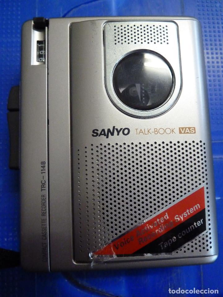 GRABADORA SANYO TALK-BOOK TRC-1148 (Radios, Gramófonos, Grabadoras y Otros - Fonógrafos y Grabadoras de Válvulas)