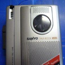 Fonógrafos y grabadoras de válvulas: GRABADORA SANYO TALK-BOOK TRC-1148. Lote 138622914