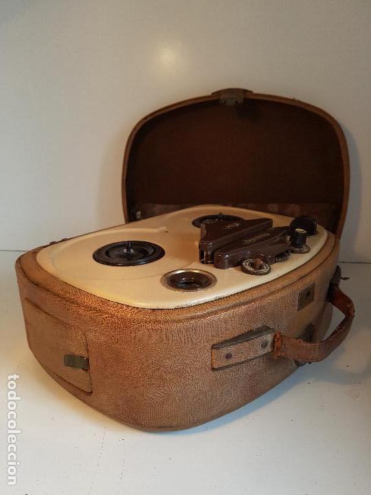 Fonógrafos y grabadoras de válvulas: Magnetofono antiguo, origen aleman, marca AEG - Foto 5 - 139054402