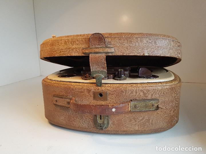 Fonógrafos y grabadoras de válvulas: Magnetofono antiguo, origen aleman, marca AEG - Foto 6 - 139054402