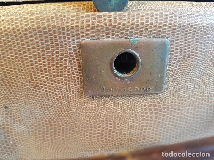 Fonógrafos y grabadoras de válvulas: Magnetofono antiguo, origen aleman, marca AEG - Foto 13 - 139054402