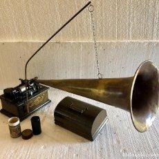 Fonógrafos y grabadoras de válvulas: FONOGRAFO THOMAS EDISON DE 1892. Lote 139552798