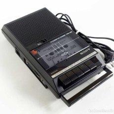 Fonógrafos y grabadoras de válvulas: CASSETTE-CORDER SONY TCM-828 FUNCIONANDO 1986. Lote 143660810