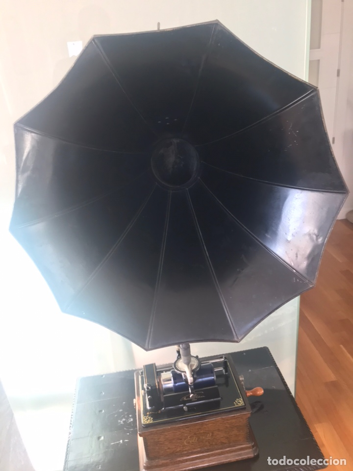 Fonógrafos y grabadoras de válvulas: Fonógrafo Edison original - Foto 4 - 145824268