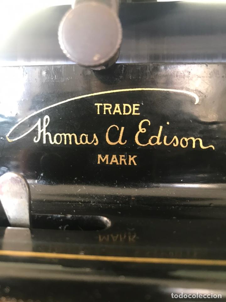 Fonógrafos y grabadoras de válvulas: Fonógrafo Edison original - Foto 12 - 145824268