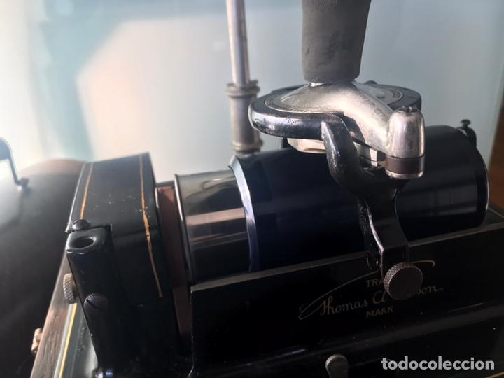 Fonógrafos y grabadoras de válvulas: Fonógrafo Edison original - Foto 13 - 145824268
