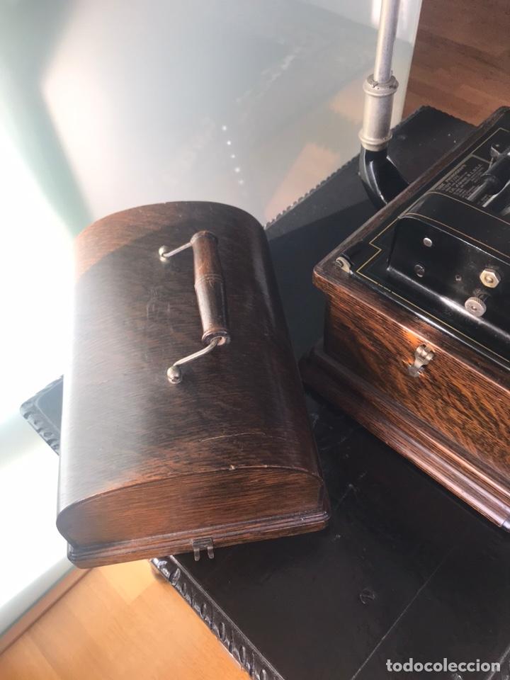 Fonógrafos y grabadoras de válvulas: Fonógrafo Edison original - Foto 14 - 145824268