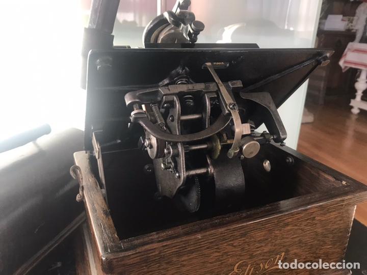 Fonógrafos y grabadoras de válvulas: Fonógrafo Edison original - Foto 16 - 145824268