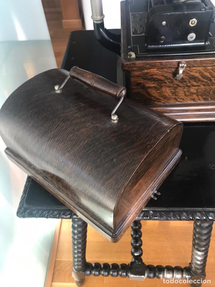 Fonógrafos y grabadoras de válvulas: Fonógrafo Edison original - Foto 18 - 145824268