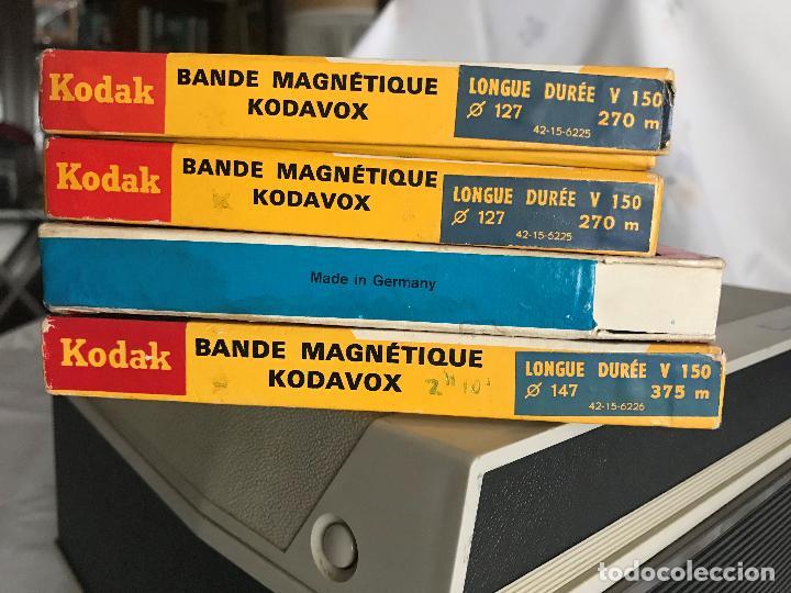 Fonógrafos y grabadoras de válvulas: ANTIGUA GRABADORA GRUNDIG TK 19 L + CINTAS - Foto 4 - 147882086