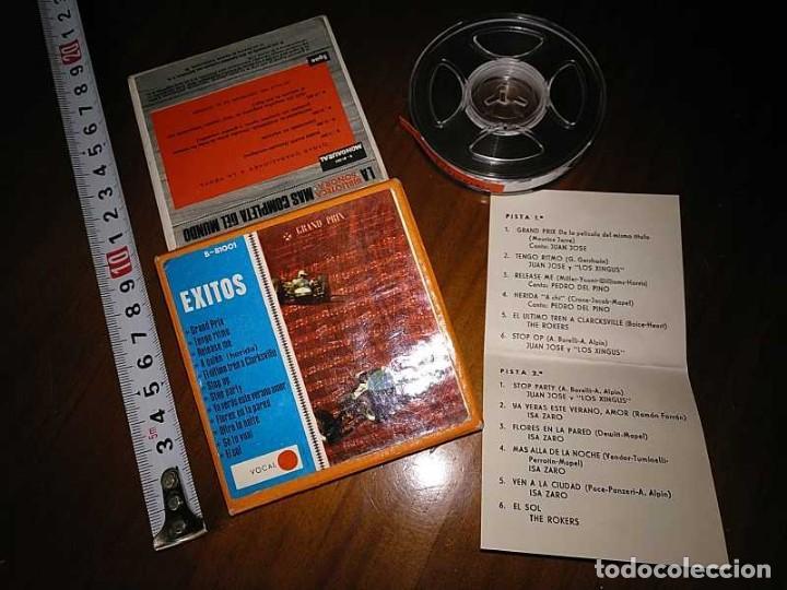 Fonógrafos y grabadoras de válvulas: EXITOS CINTA ANTIGUA DE MAGNETOFON MAGNETOFONICA O MAGNETOFONO CON CAJA FINAL DE LOS 60 REEL - Foto 15 - 148753094