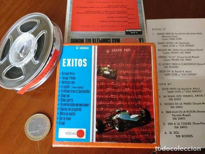 Fonógrafos y grabadoras de válvulas: EXITOS CINTA ANTIGUA DE MAGNETOFON MAGNETOFONICA O MAGNETOFONO CON CAJA FINAL DE LOS 60 REEL - Foto 28 - 148753094