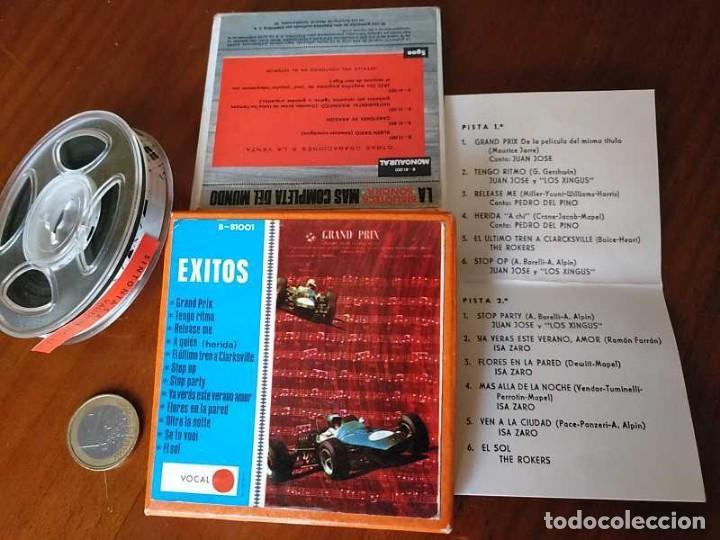 Fonógrafos y grabadoras de válvulas: EXITOS CINTA ANTIGUA DE MAGNETOFON MAGNETOFONICA O MAGNETOFONO CON CAJA FINAL DE LOS 60 REEL - Foto 30 - 148753094