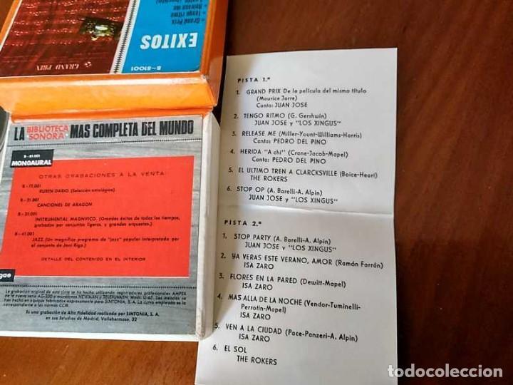 Fonógrafos y grabadoras de válvulas: EXITOS CINTA ANTIGUA DE MAGNETOFON MAGNETOFONICA O MAGNETOFONO CON CAJA FINAL DE LOS 60 REEL - Foto 33 - 148753094