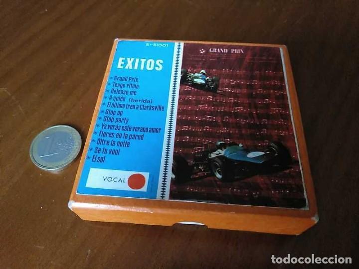Fonógrafos y grabadoras de válvulas: EXITOS CINTA ANTIGUA DE MAGNETOFON MAGNETOFONICA O MAGNETOFONO CON CAJA FINAL DE LOS 60 REEL - Foto 42 - 148753094
