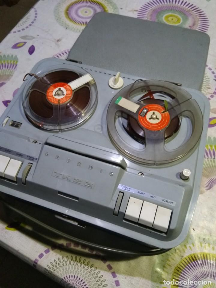 MAGNETÓFONO ANTIGUO (Radios, Gramófonos, Grabadoras y Otros - Fonógrafos y Grabadoras de Válvulas)