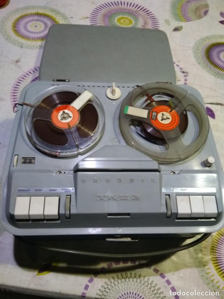 Fonógrafos y grabadoras de válvulas: magnetófono antiguo - Foto 2 - 152810422