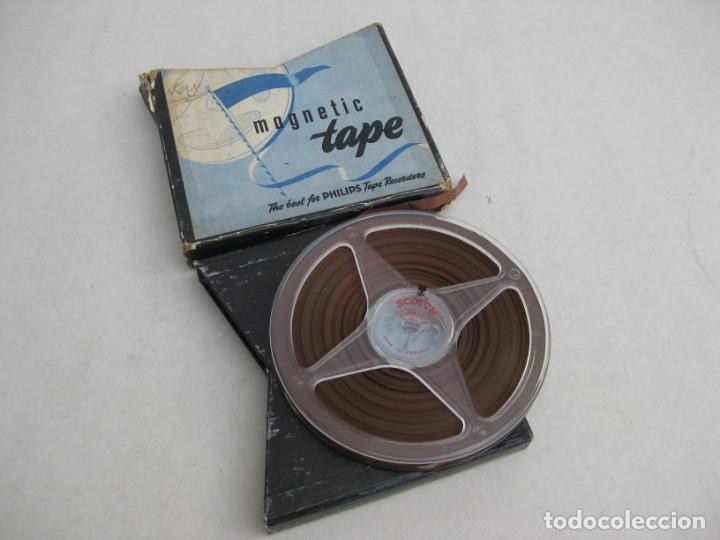 CINTA DE GRABACION PARA MAGNETOFONO (Radios, Gramófonos, Grabadoras y Otros - Fonógrafos y Grabadoras de Válvulas)