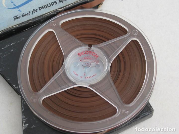 Fonógrafos y grabadoras de válvulas: Cinta de grabacion para magnetofono - Foto 2 - 155847398