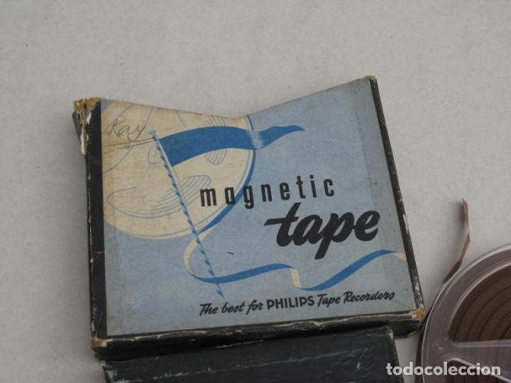Fonógrafos y grabadoras de válvulas: Cinta de grabacion para magnetofono - Foto 5 - 155847398