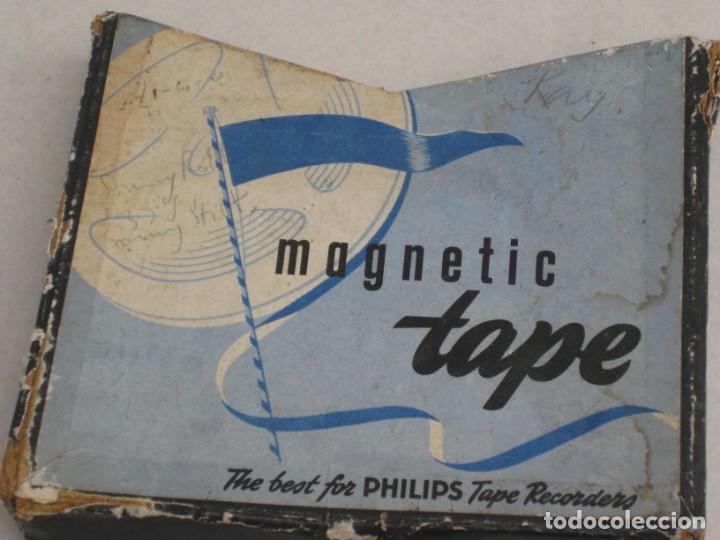 Fonógrafos y grabadoras de válvulas: Cinta de grabacion para magnetofono - Foto 7 - 155847398
