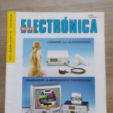 Phonographes et magnétophones à lampes: ELECTRONICA, REVISTA NUEVA ELECTRONICA - NUM. 249. Lote 157143454