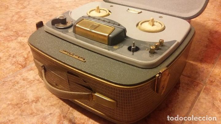 GRUNDIG TK 20 (Radios, Gramófonos, Grabadoras y Otros - Fonógrafos y Grabadoras de Válvulas)