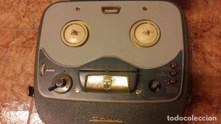 Fonógrafos y grabadoras de válvulas: Grundig TK 20 - Foto 3 - 157766450