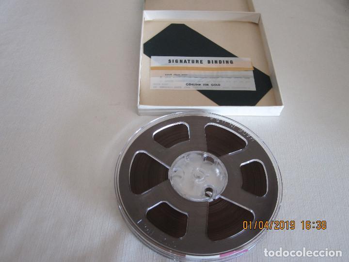 CINTA MAGNETICA IRISH RECORDING TAPE 198 5 INCH REEL 1/2 MIL MYLAR TENSILIZED 1/4 IN X 1200 FT. (Radios, Gramófonos, Grabadoras y Otros - Fonógrafos y Grabadoras de Válvulas)