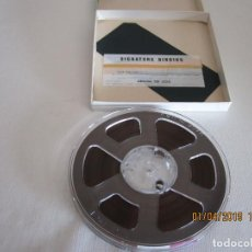 Fonógrafos y grabadoras de válvulas: CINTA MAGNETICA IRISH RECORDING TAPE 198 5 INCH REEL 1/2 MIL MYLAR TENSILIZED 1/4 IN X 1200 FT.. Lote 158117262