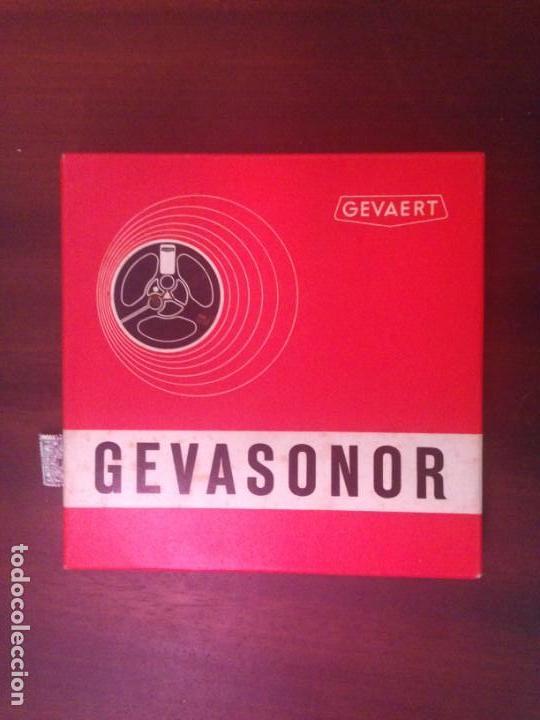 CINTA VIRGEN PARA MAGNETOFÓN - MARCA GEVASONOR - 350 MINUTOS (Radios, Gramófonos, Grabadoras y Otros - Fonógrafos y Grabadoras de Válvulas)