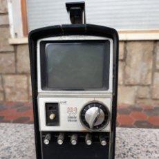 Phonographes et magnétophones à lampes: TRANSISTOR TELEVISION TELEVISOR PORTÁTIL STANDARD ANALÓGICA( ANTIQUISIMA). Lote 159879358